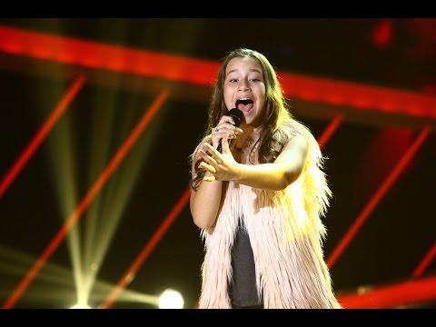 """Lara Fabian - """"Je t'aime"""". Vezi interpretarea Graţielei Ubuaşa, la Next Star!"""