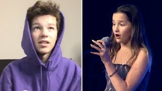 Hayden Summerall REACTS To Annie's Singing Performance