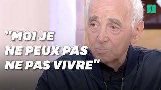 Ce que disait Charles Aznavour à la télé 3 jours avant sa mort