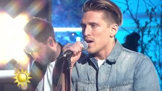 Danny Saucedo - Ta på dig jackan (Live) - Nyhetsmorgon (TV4)