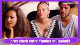 La Villa des cœurs brisés 3 : gros clash entre Yamina et Raphaël
