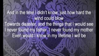 Greg Holden - The Lost Boy Lyrics