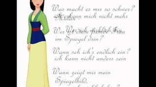 Mulan - Wer ich wirklich bin (mit lyrics)