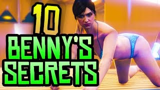 GTA 5 - 10 Secret & Hidden Benny's Mod Shop Features You NEED to Know in GTA 5 Online!