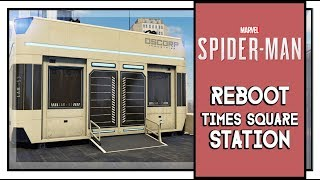 Marvel's Spider Man Reboot Times Square Altair Research Station