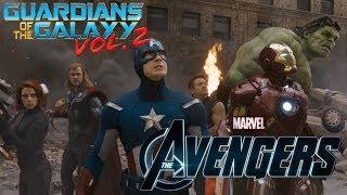 The Avengers - Hulk Smash Scene (Guardians of the Galaxy Vol. 2 Intro Style)