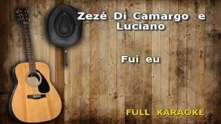 Karaokê Zezé Di Camargo e Luciano Fui eu