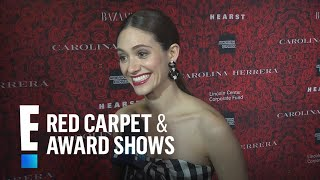 Exclusive: Emmy Rossum Reveals Her Wedding Dress Designer | E! Live from the Red Carpet