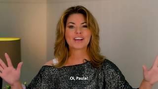 "Shania Twain - ""Now"" Promo for Paula Fernandes (Brazilian singer)"