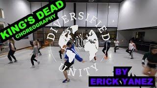 Jay Rock, Kendrick Lamar, Future, James Blake - King's Dead | Choreography Erick Yanez