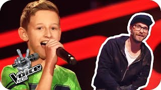 The Temptations -  My Girl (Ruben) | The Voice Kids 2017 | Blind Auditions | SAT.1