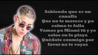 EL AMANTE Remix   Nicky Jam ft Ozuna y Bad Bunny (LETRA)