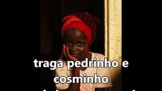 """Crianças """"Voa, Voa Andorinha"""" Jose Carlos de Oxossi SUBTITULADO Y CON LETRA"""