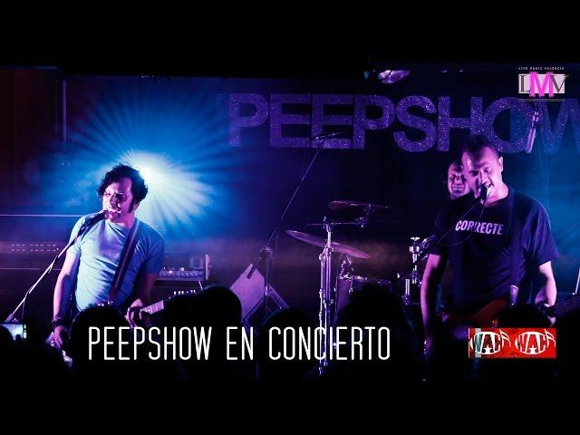 PEEPSHOW en directo