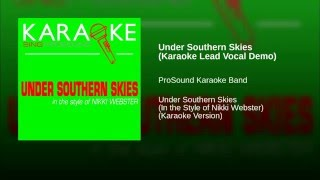Under Southern Skies Karaoke Lead Vocal Demo
