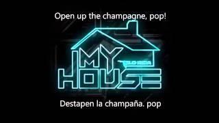 Canción MY HOUSE (con subtitulos al español)