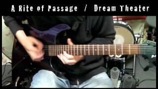 A Rite Of Passage / Dream Theater Guitar Solo Cover