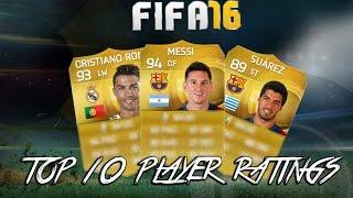 افضل 10 لاعبين بـ فيفا 16 | Top 10 players in FIFA 16