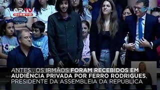 A Assembleia da República aprova por unanimidade um voto de saudação a Salvador e Luísa Sobral