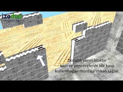 İzoduo Köşe Blok Uygulaması (HD) - Köşe Çözümleri