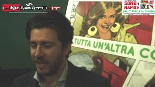 Alla presentazione di Song 'e Napule con Alessandro Roja