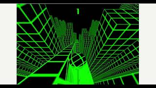 Y8 Slope Ball WebGL gameplay 2016