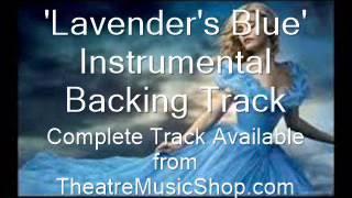 Lavender's Blue (Cinderella 2015) - Instrumental Backing Track