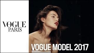 Behind the scenes with Mathea, winner of Vogue Model 2017  |  VOGUE PARIS