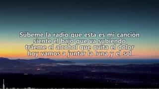 Enrique Iglesias ft  Descemer Bueno, Zion & Lennox    Súbeme la radio Letra