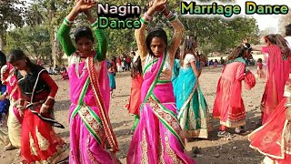 Adivasi Female Nagin Dance // Part - 2 // Meda Family // Marriage Dance // Arjun R Meda // New Timli