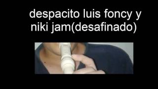 DESPACITO luis foncy y el regaetonero  FLAUTA (FAIL)