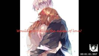 Nightcore Male Version - In The Name Of Love