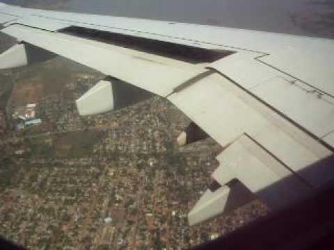 Aterizando en Managua, Nicaragua