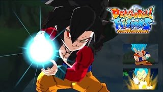 Dragon Ball Fusions Trailer 4 [OFFICIAL] Battle System, Character Types Gameplay