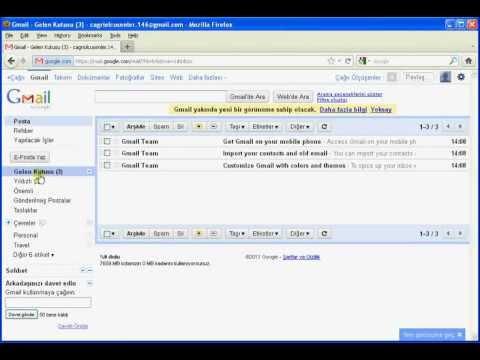 Google'da Ücretsiz E-mail Hesabı Oluşturma (Gmail Hesabı Nasıl Açılır)