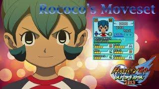 Rococo's Moveset in Inazuma Eleven Go Strikers 2013