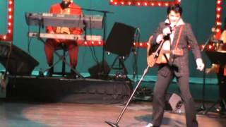 "Ultimate Elvis Contest 2013 - Dean Z ""Shake, Rattle & Roll"""