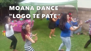 """LOGO TE PATE"" DANCE FROM MOANA"