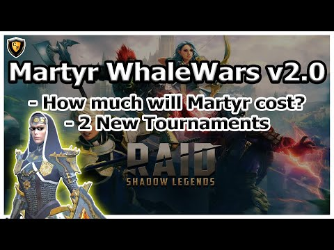 RAID Shadow Legends | Martyr WhaleWars v2.0!