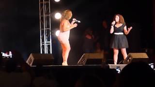 Freestyle Westchester- Brenda K Starr Duet w/Daughter 9-26-15