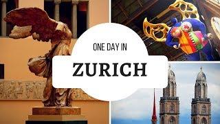 Swiss 2017 : ONE DAY IN : Zurich (City Tour)