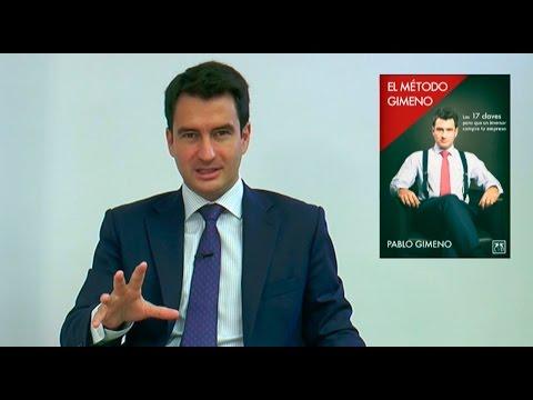 Pablo Gimeno presenta El método Gimeno, el libro con las 17 claves para conseguir inversores