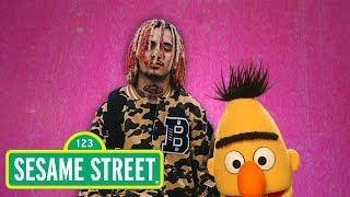 Lil Pump does math on Sesame Street
