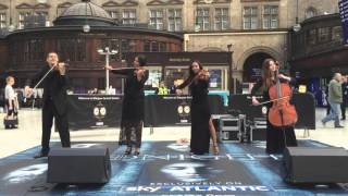 Game Of Thrones Theme Tune Performed By Urban Soul Orchestra At Glasgow Central Station