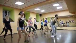 Занятия от Gusyaka club: ZUMBA -  Pitbull feat. Psirico - Lepo Lepo - ЗУМБА