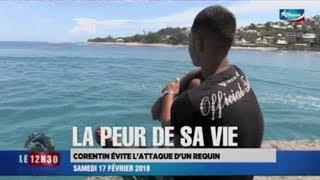 Chargé par un gros #RequinBouledogue, Corentin raconte ce qu'il a vécu - 18/02/2018