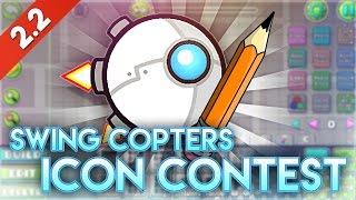 ACTUALIZACIÓN ICON CONTEST: Tu icono de SWING COPTERS en Geometry Dash 2.2! | GuitarHeroStyles
