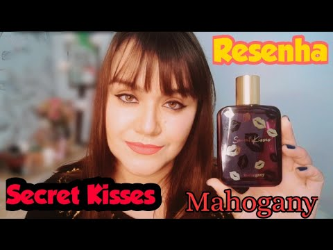 PERFUME SECRET KISSES MAHOGANY 🌷