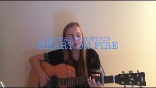 "Jonathan Clay ""Heart On Fire"" - Mini Cover - Hannah Wrightson"