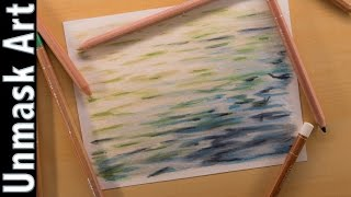 Water | Colored Pencil Drawing Time Lapse